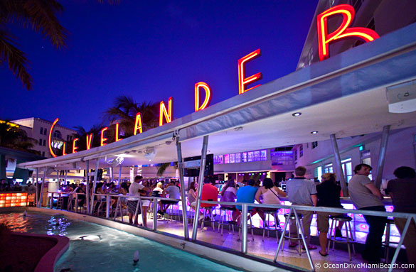 Clevelander On Ocean Drive Miami Beach